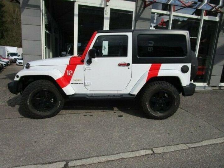Jeep Wrangler Jeep Wrangler 2.8 CRD 200ch Unlimired Sahara BVA: GPS/ Attelage/ Gtie 12Mois/ TOUT INCLUS Blanc - 9