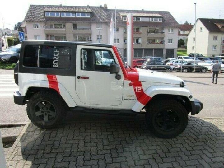 Jeep Wrangler Jeep Wrangler 2.8 CRD 200ch Unlimired Sahara BVA: GPS/ Attelage/ Gtie 12Mois/ TOUT INCLUS Blanc - 10