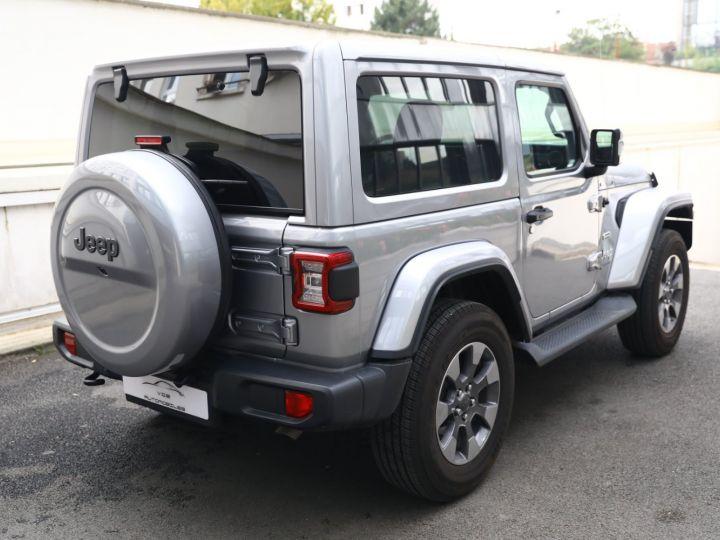 Jeep Wrangler JEEP WRANGLER IV 2.0 I T 272 4WD OVERLAND AUTO 2PORTES / MALUS PAYE Gris Metal - 4