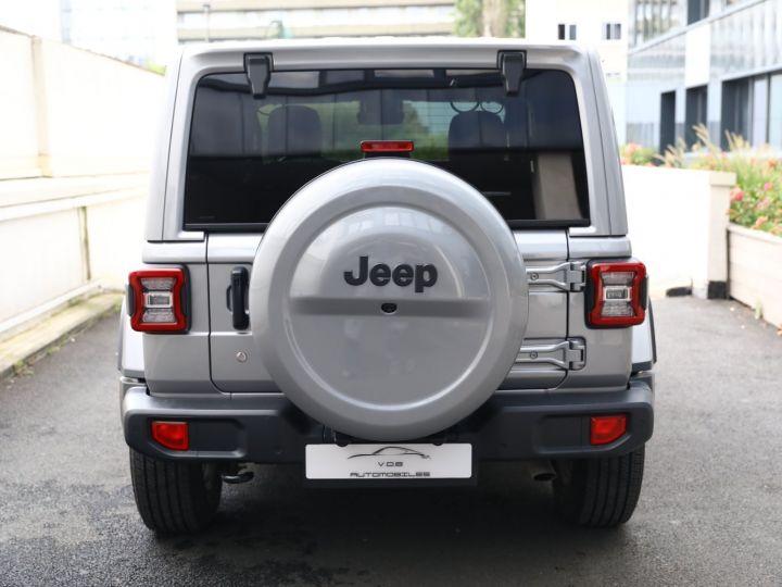 Jeep Wrangler JEEP WRANGLER IV 2.0 I T 272 4WD OVERLAND AUTO 2PORTES / MALUS PAYE Gris Metal - 5