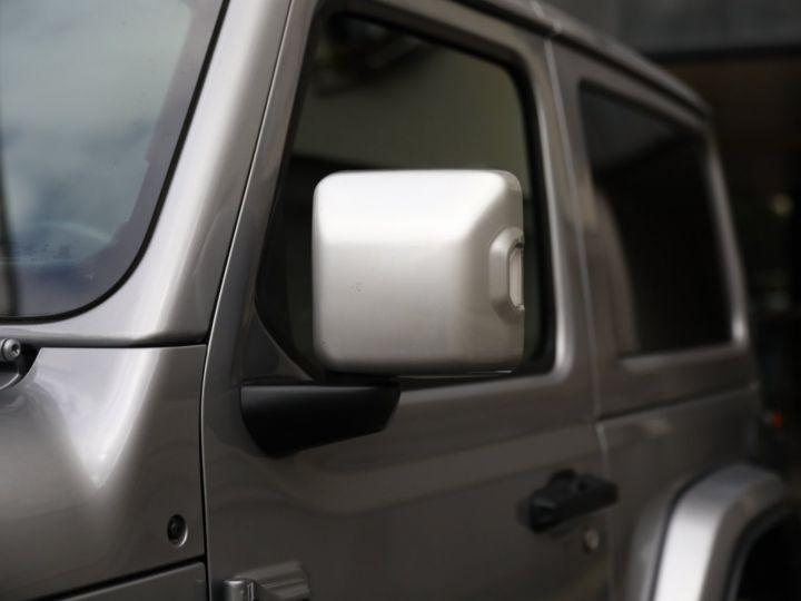 Jeep Wrangler JEEP WRANGLER IV 2.0 I T 272 4WD OVERLAND AUTO 2PORTES / MALUS PAYE Gris Metal - 10