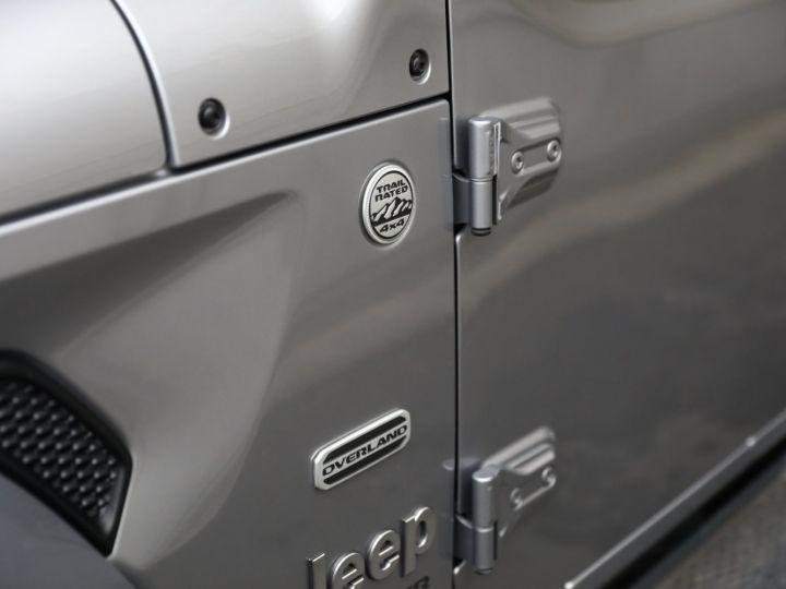Jeep Wrangler JEEP WRANGLER IV 2.0 I T 272 4WD OVERLAND AUTO 2PORTES / MALUS PAYE Gris Metal - 11