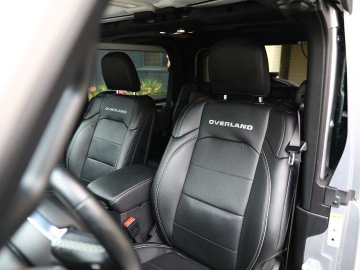 Jeep Wrangler JEEP WRANGLER IV 2.0 I T 272 4WD OVERLAND AUTO 2PORTES / MALUS PAYE Gris Metal - 25