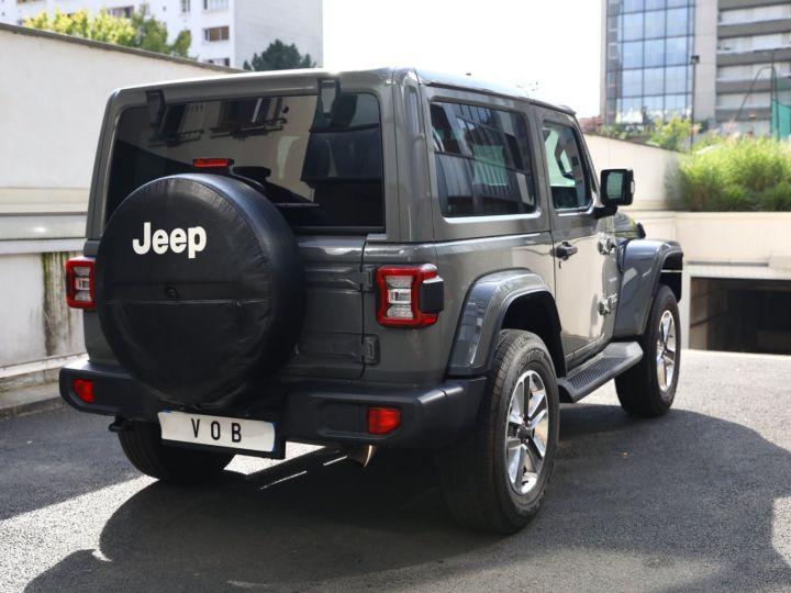 Jeep Wrangler JEEP WRANGLER IV 2.0 I T 272 SAHARA AUTO 2P / FRANCAIS / MALUS PAYE Gris Vernis - 2