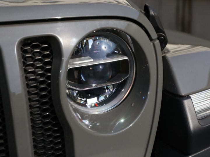 Jeep Wrangler JEEP WRANGLER IV 2.0 I T 272 SAHARA AUTO 2P / FRANCAIS / MALUS PAYE Gris Vernis - 10