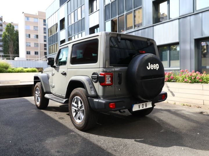 Jeep Wrangler JEEP WRANGLER IV 2.0 I T 272 SAHARA AUTO 2P / FRANCAIS / MALUS PAYE Gris Vernis - 12