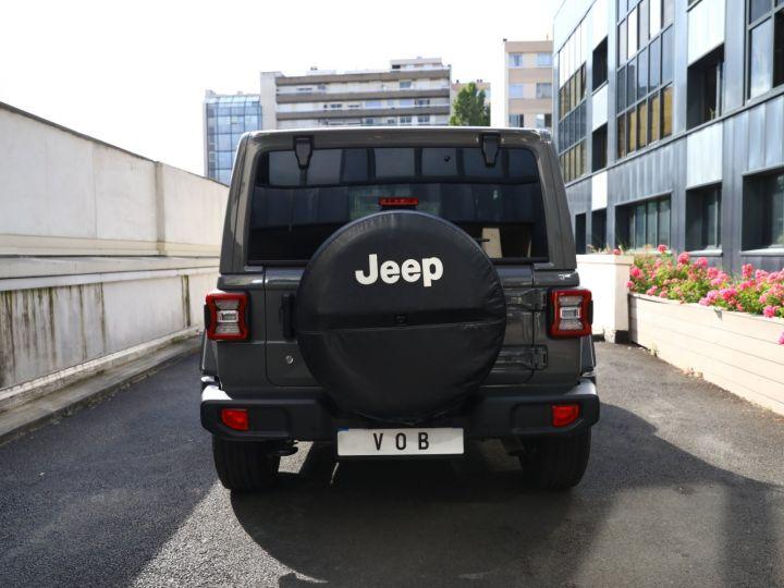 Jeep Wrangler JEEP WRANGLER IV 2.0 I T 272 SAHARA AUTO 2P / FRANCAIS / MALUS PAYE Gris Vernis - 13