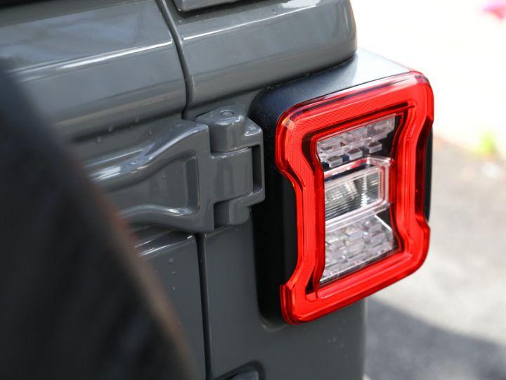 Jeep Wrangler JEEP WRANGLER IV 2.0 I T 272 SAHARA AUTO 2P / FRANCAIS / MALUS PAYE Gris Vernis - 17