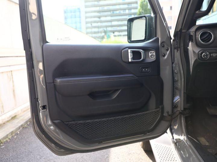 Jeep Wrangler JEEP WRANGLER IV 2.0 I T 272 SAHARA AUTO 2P / FRANCAIS / MALUS PAYE Gris Vernis - 31