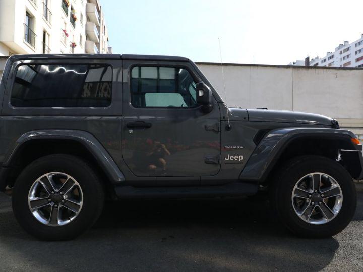 Jeep Wrangler JEEP WRANGLER IV 2.0 I T 272 SAHARA AUTO 2P / FRANCAIS / MALUS PAYE Gris Vernis - 39
