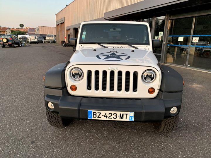 Jeep Wrangler JK 2.8 L CRD 200 CV Sport Boite mécanique Blanc - 4