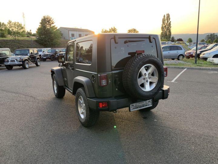 Jeep Wrangler JK 3.8 L V6 RUBICON Vert Foncé - 6