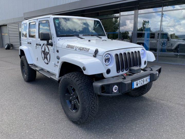 Jeep WRANGLER JK ULIMITED 2.8 L CRD 200 CV Arctic Blanc - 2