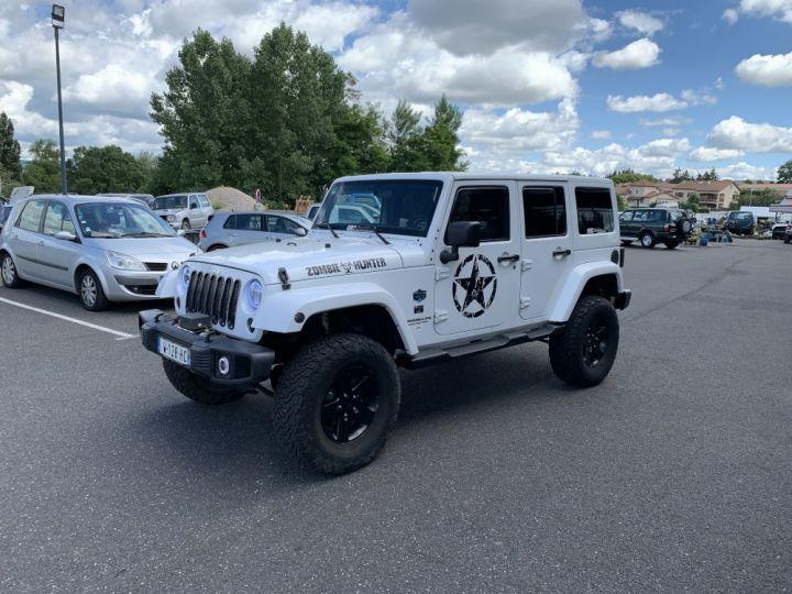 Jeep WRANGLER JK ULIMITED 2.8 L CRD 200 CV Arctic Blanc - 4