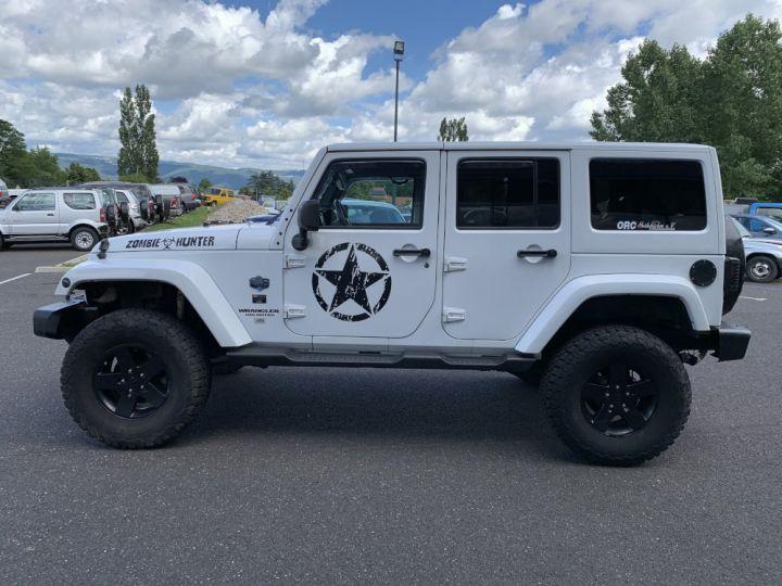 Jeep WRANGLER JK ULIMITED 2.8 L CRD 200 CV Arctic Blanc - 5