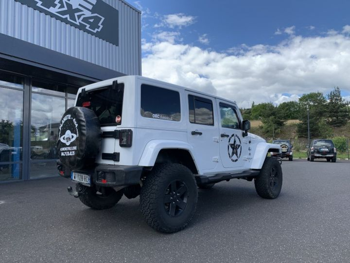 Jeep WRANGLER JK ULIMITED 2.8 L CRD 200 CV Arctic Blanc - 7