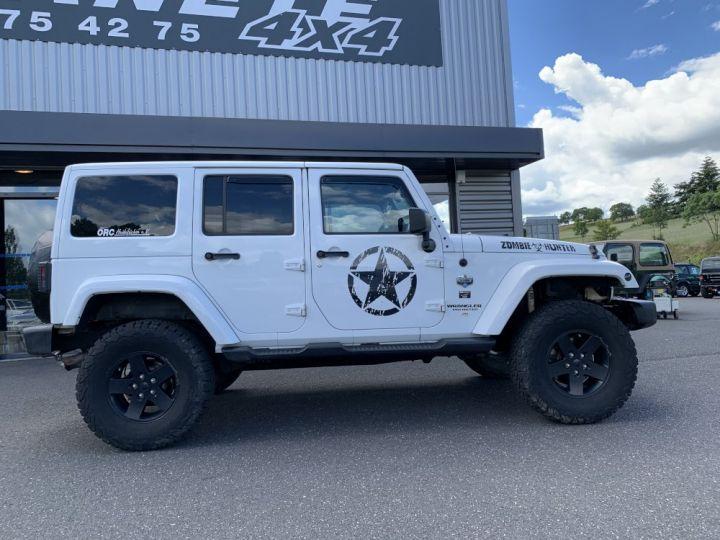 Jeep WRANGLER JK ULIMITED 2.8 L CRD 200 CV Arctic Blanc - 8