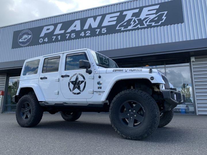 Jeep WRANGLER JK ULIMITED 2.8 L CRD 200 CV Arctic Blanc - 9