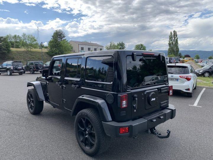 Jeep Wrangler JK ULIMITED 2.8 L CRD 256 CV Sahara Noire - 6