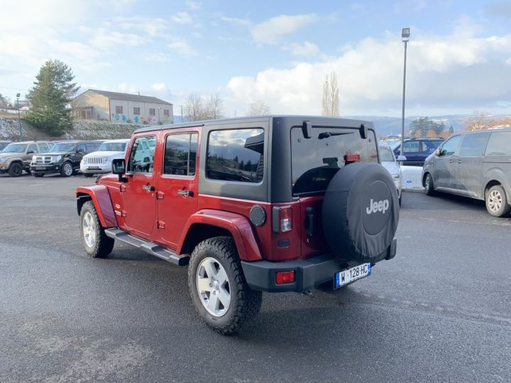 Jeep Wrangler JKU 3.6 L V6 284 CV Sahara Bordeaux - 6
