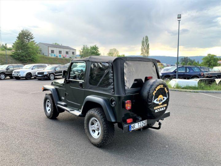 Jeep Wrangler TJ 2.5 L 118 CV Sport Vert Foncé - 4
