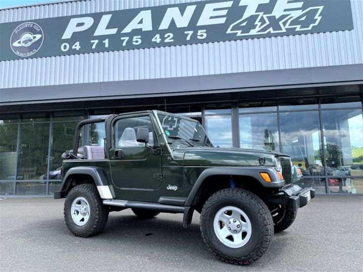 Jeep Wrangler TJ 2.5 L 118 CV Sport Vert Foncé - 5