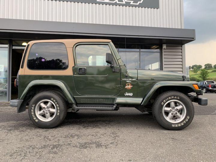 Jeep WRANGLER TJ 4 L 177 CV Sahara Vert Foncé - 8
