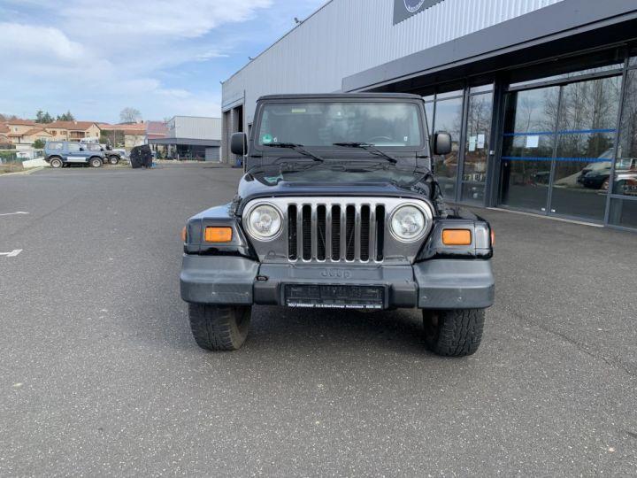 Jeep WRANGLER TJ 4 L 177 CV Sahara Edition Noir - 4