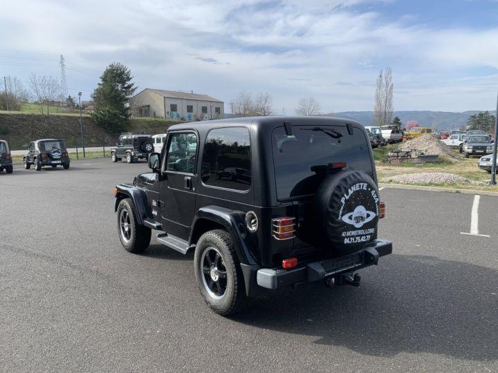 Jeep WRANGLER TJ 4 L 177 CV Sahara Edition Noir - 6