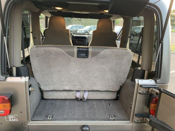 Jeep Wrangler TJ 4 L 177 CV Sahara Edition  Champagne - 13