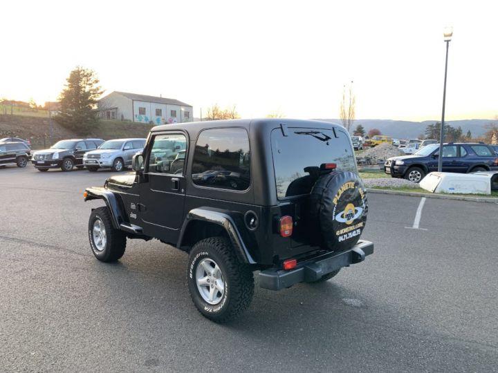 Jeep Wrangler TJ 4 L 177 CV Sahara Edition BVA Noire - 6