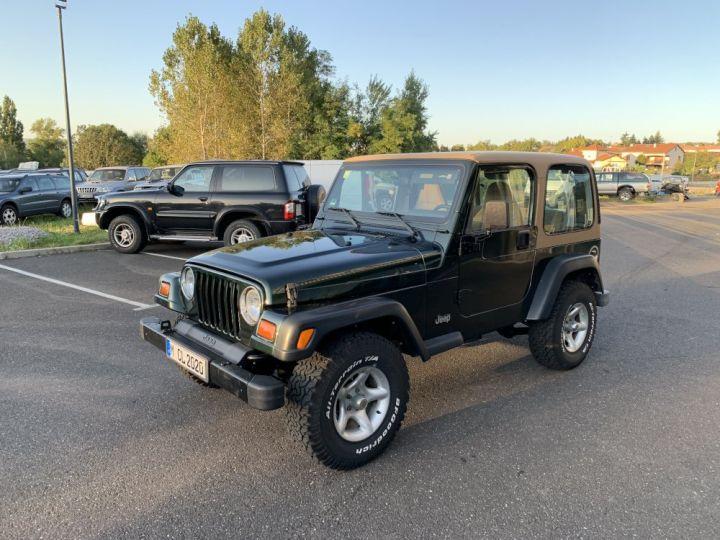 Jeep WRANGLER TJ 4 L 177 CV Sport Vert Foncé - 3