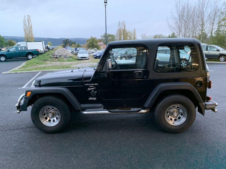 Jeep WRANGLER TJ 4 L 177 CV Sport Noire - 6