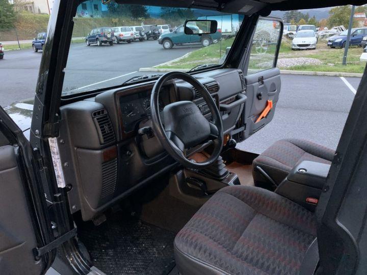 Jeep WRANGLER TJ 4 L 177 CV Sport Noire - 10