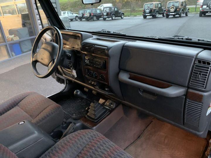 Jeep WRANGLER TJ 4 L 177 CV Sport Noire - 12