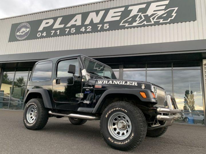 Jeep Wrangler TJ 4 L 177 CV Sport Noire - 1