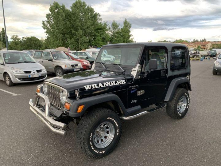 Jeep Wrangler TJ 4 L 177 CV Sport Noire - 4