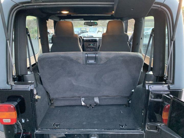 Jeep Wrangler TJ 4 L 177 CV Sport Noire - 15