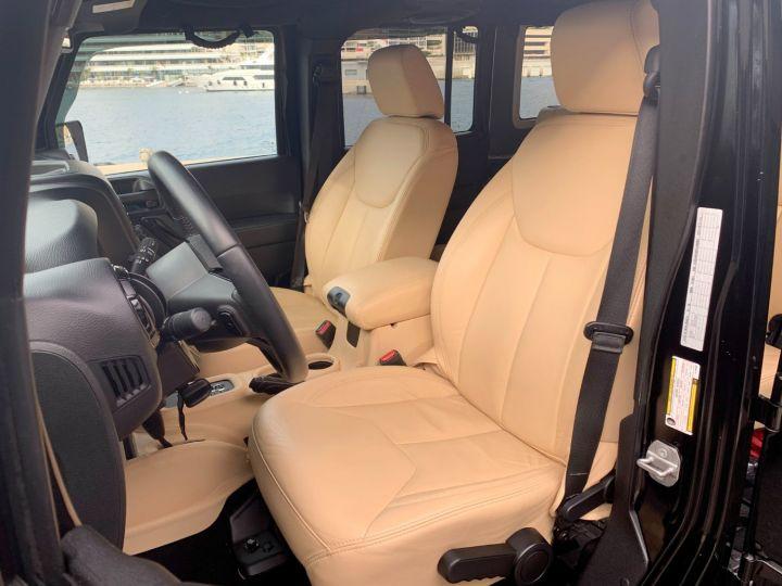Jeep Wrangler UNLIMITED BACKCOUNTRY V6 3.6 BVA 284 CH Noir Occasion - 16