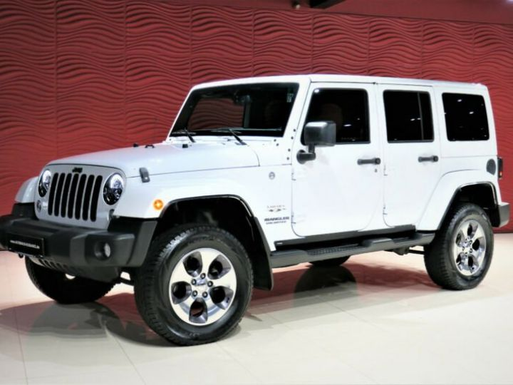 Jeep Wrangler Unlimited Sahara* Blanc - 1
