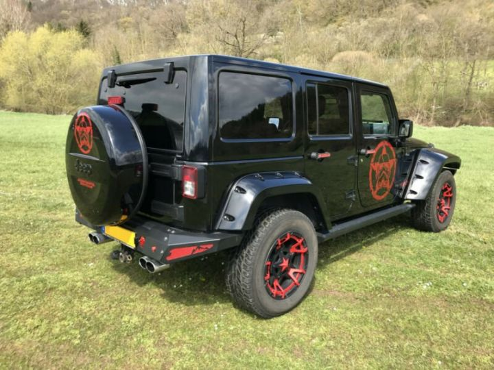 Jeep Wrangler V6 3.6L 286 CV StormTrooper Edition USA /Attelage/ Gtie 12 Mois / Livraison Incluse Noir Métal - 6
