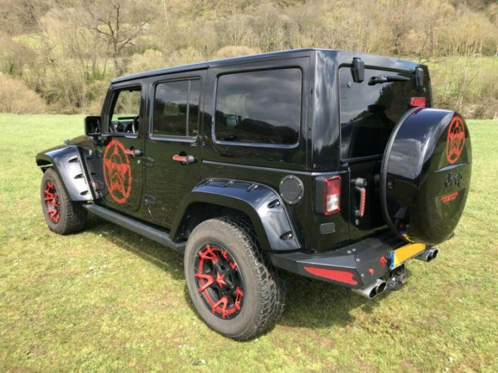 Jeep Wrangler V6 3.6L 286 CV StormTrooper Edition USA /Attelage/ Gtie 12 Mois / Livraison Incluse Noir Métal - 7