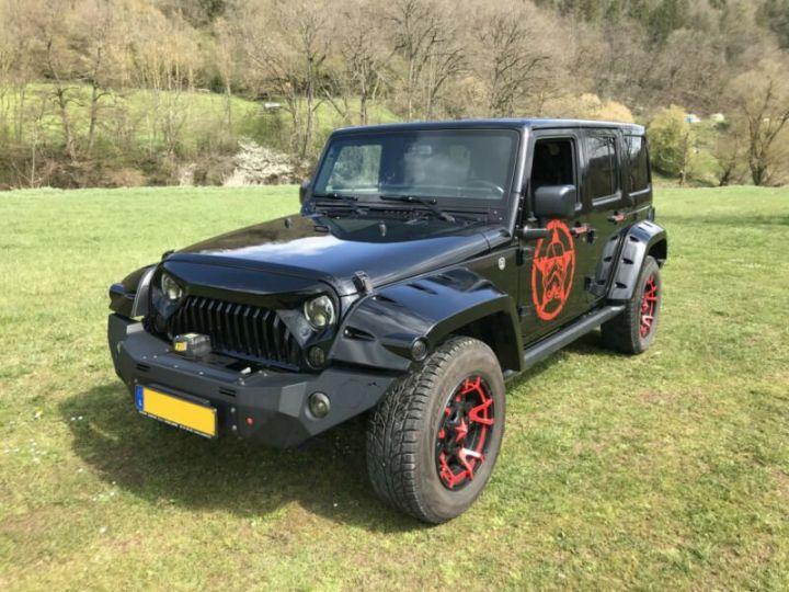 Jeep Wrangler V6 3.6L 286 CV StormTrooper Edition USA /Attelage/ Gtie 12 Mois / Livraison Incluse Noir Métal - 14