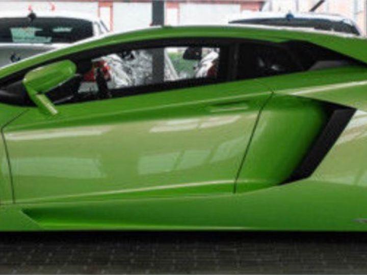 Lamborghini Aventador 6.5 V12 700 LP700-4 Vert Ithaca métallisé - 4