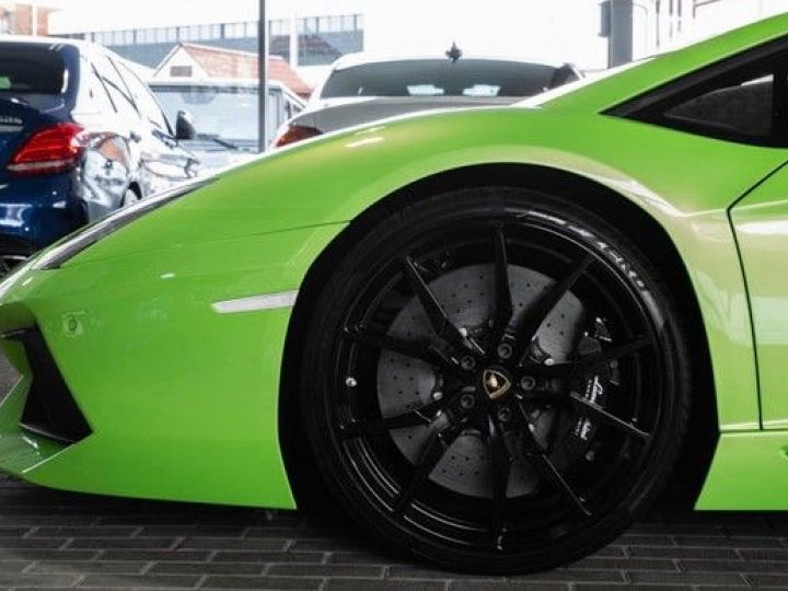 Lamborghini Aventador 6.5 V12 700 LP700-4 Vert Ithaca métallisé - 5