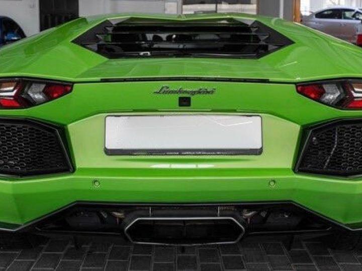 Lamborghini Aventador 6.5 V12 700 LP700-4 Vert Ithaca métallisé - 7