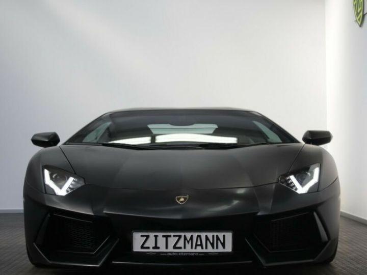 Lamborghini Aventador Aventador LP 700-4 noir mat - 1