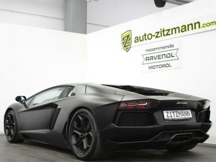 Lamborghini Aventador Aventador LP 700-4 noir mat - 9