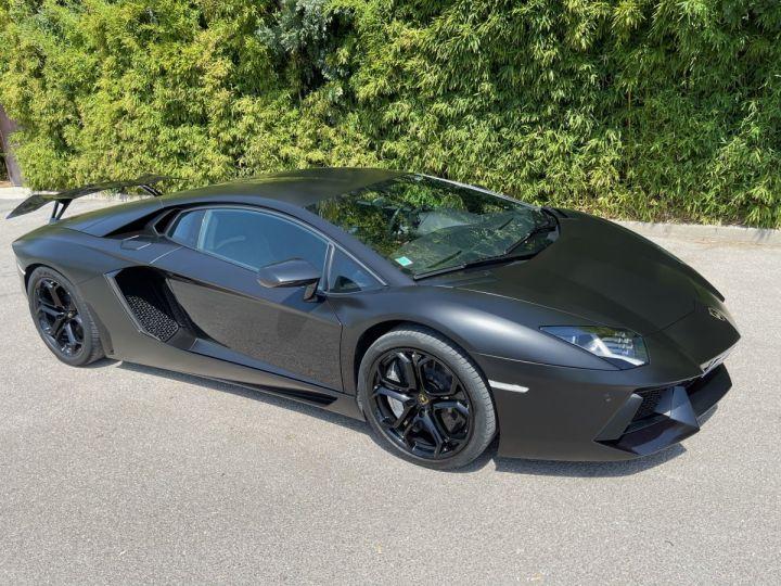 Lamborghini Aventador LP 700-4 Coupé Nero Pegaso * pas de malus * en stock  NOIR MAT COVERING  - 1