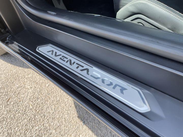 Lamborghini Aventador LP 700-4 Coupé Nero Pegaso * pas de malus * en stock  NOIR MAT COVERING  - 4